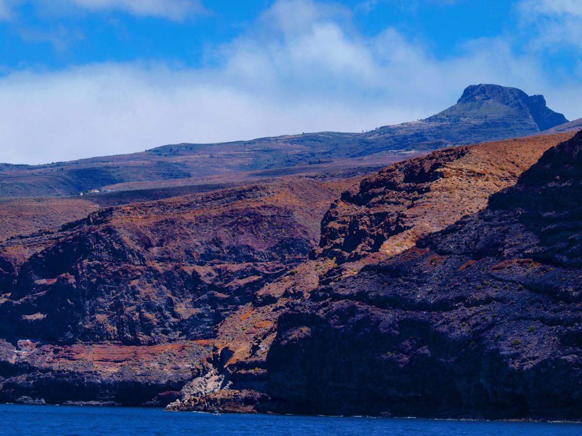 Zdjęcia: La Gomera, Wyspy Kanaryjskie, wybrzeże La Gomery 2, HISZPANIA