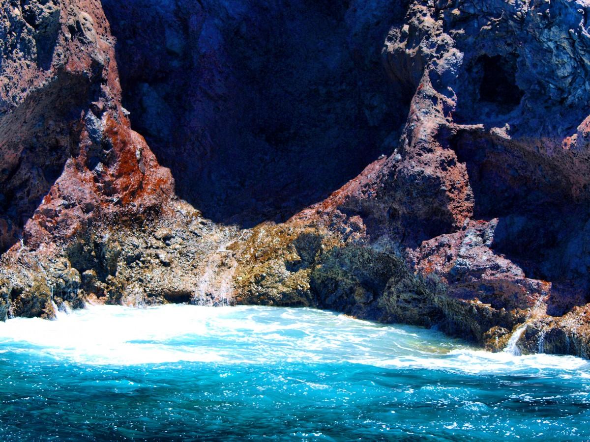 Zdjęcia: La Gomera, Wyspy Kanaryjskie, wybrzeże La Gomery 3, HISZPANIA