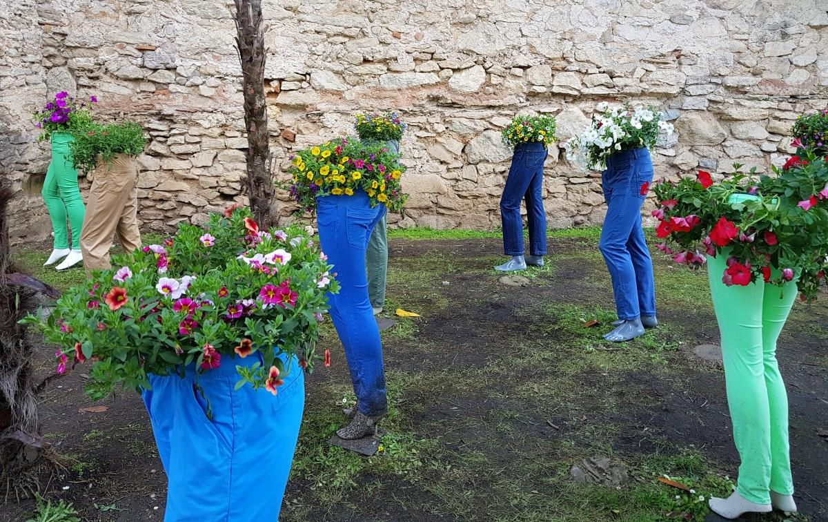 Zdjęcia: Girona, Katalonia, Czas kwiatów w Gironie, HISZPANIA