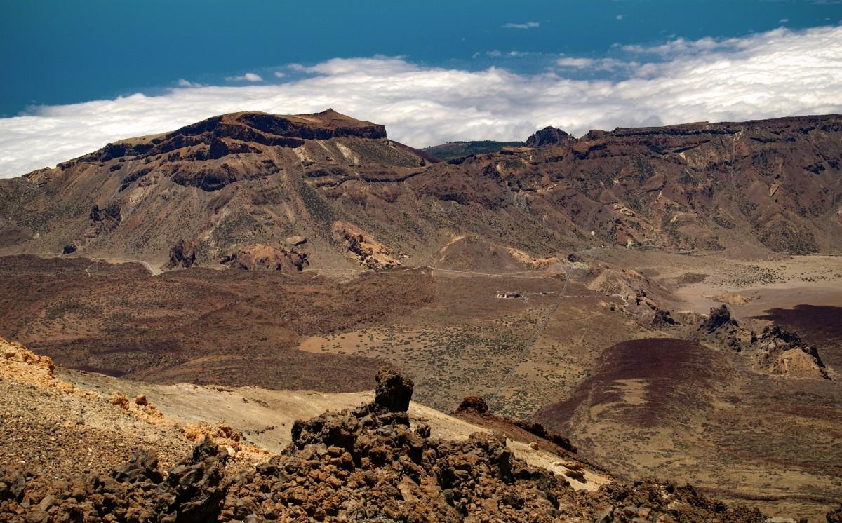Zdjęcia:  Teide, Teneryfa, okolice Teide, HISZPANIA