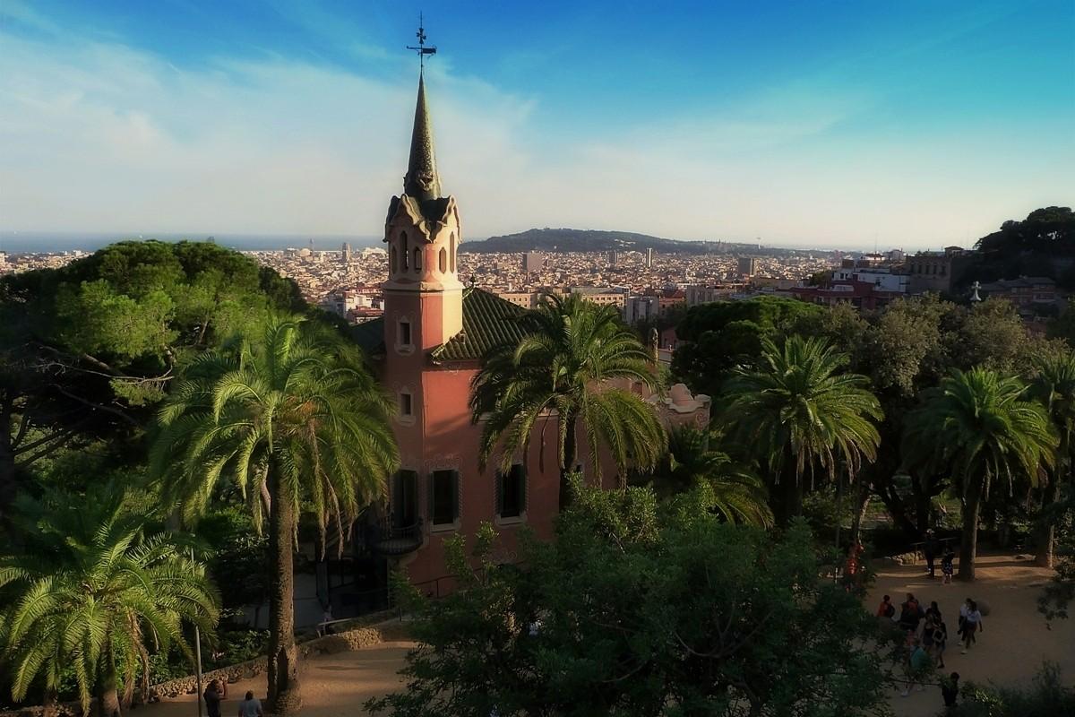 Zdjęcia: Barcelona, Katalonia, Park Güell, HISZPANIA