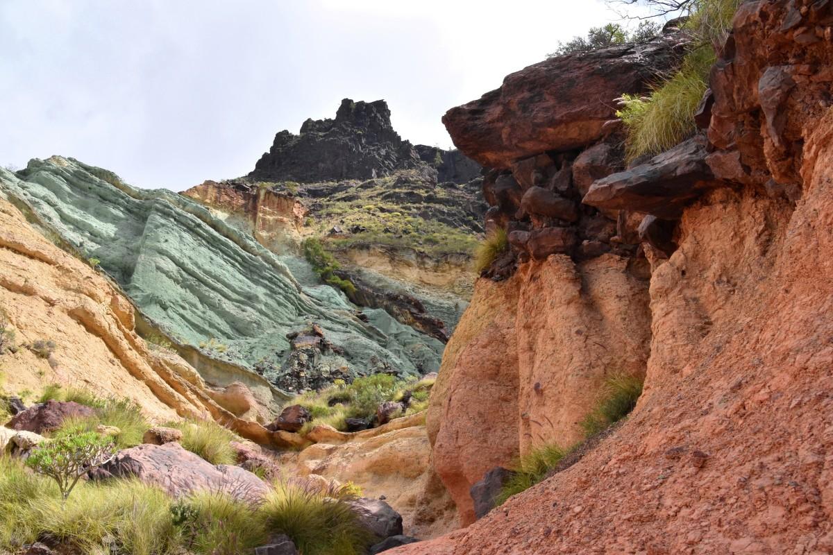 Zdjęcia: okolice Mogan, Gran Canaria, Fuente de los Azulejos, HISZPANIA