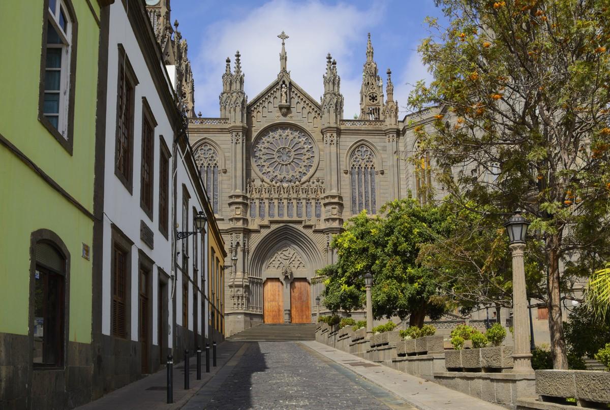 Zdjęcia: Arucas, Wyspy Kanaryjskie - Gran Canaria, Iglesia de San Juan, HISZPANIA