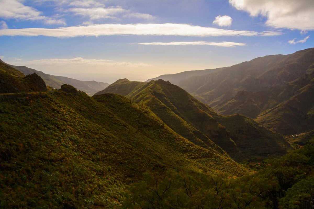 Zdjęcia: Hermigua, Wyspy Kanaryjskie - La Gomera, krajobrazy La Gomery, HISZPANIA