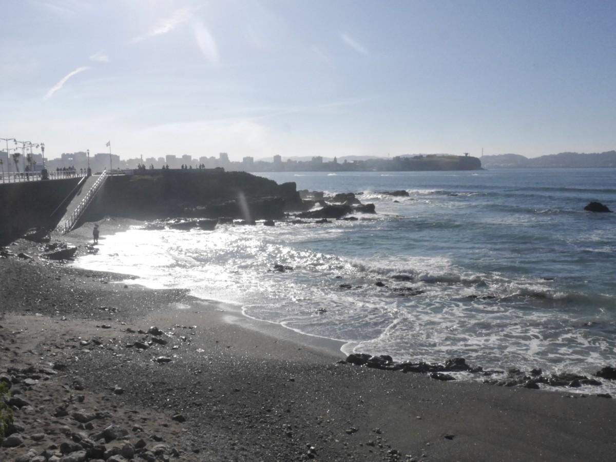 Zdjęcia: Gijon, Asturia, tyle słońca w całym mieście, HISZPANIA