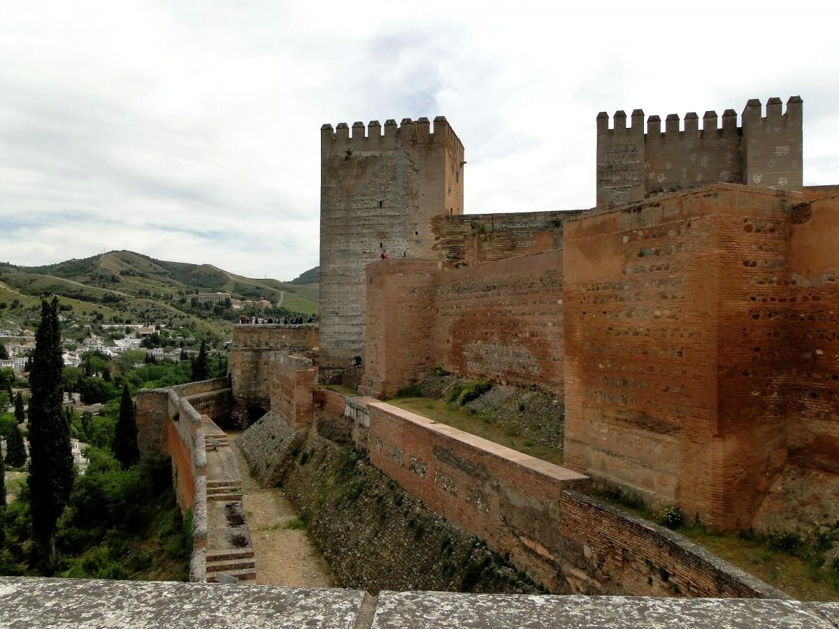 Zdjęcia: Granada, Andaluzja, Alcazaba, HISZPANIA
