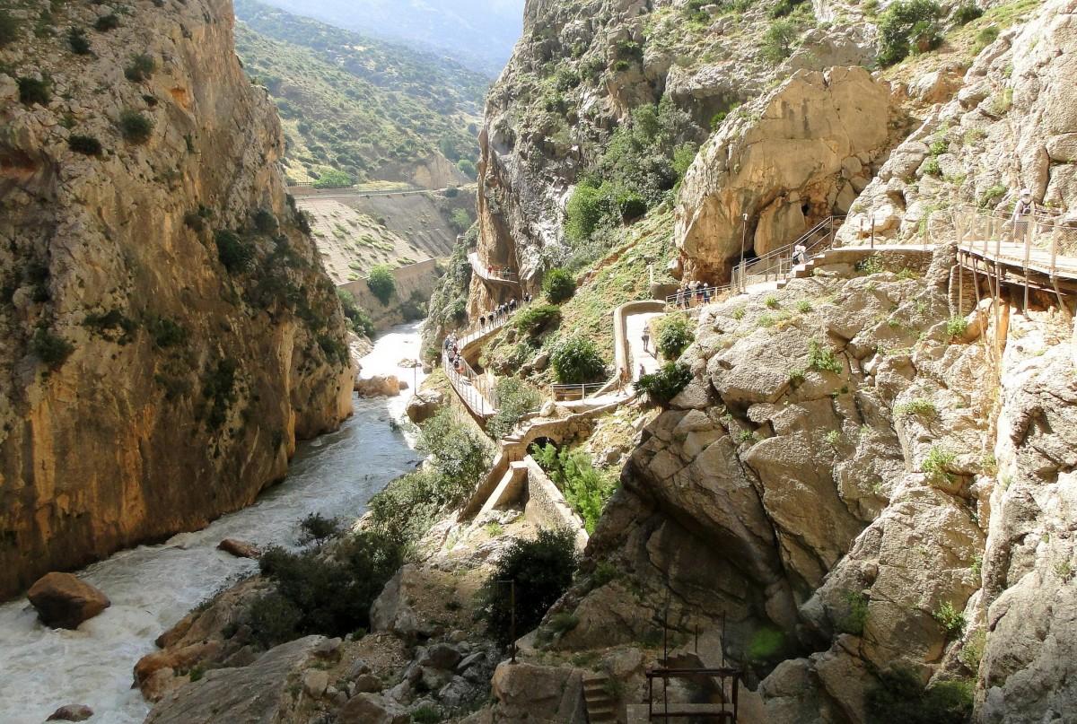 Zdjęcia: El Chorro, Andaluzja, Caminito del Rey., HISZPANIA