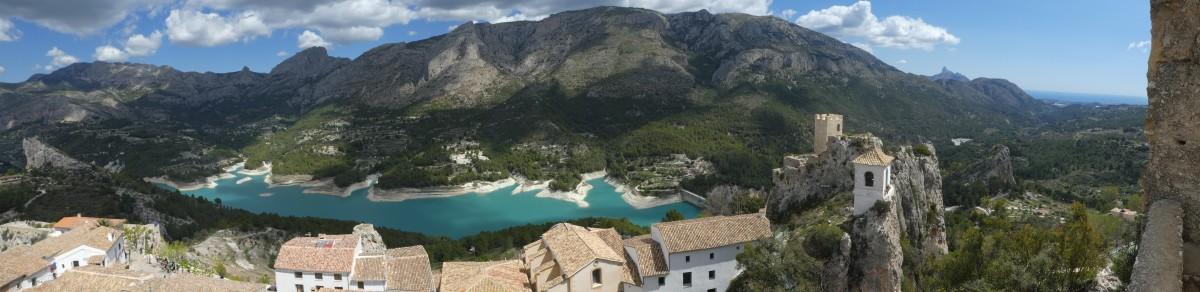 Zdjęcia: Guadalest, Comunitat Valenciana, Dolina Guadalest, HISZPANIA