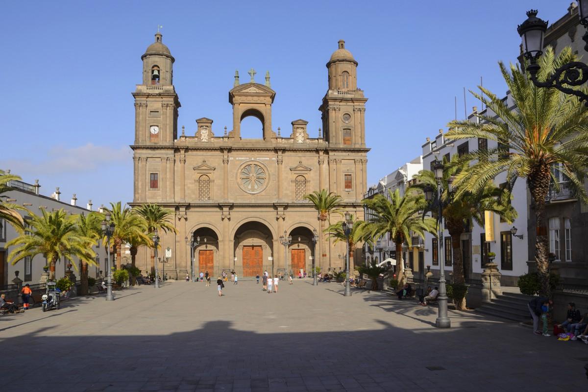 Zdjęcia: Las Palmas , Gran Kanaria, Plaza de Santa Ana, HISZPANIA