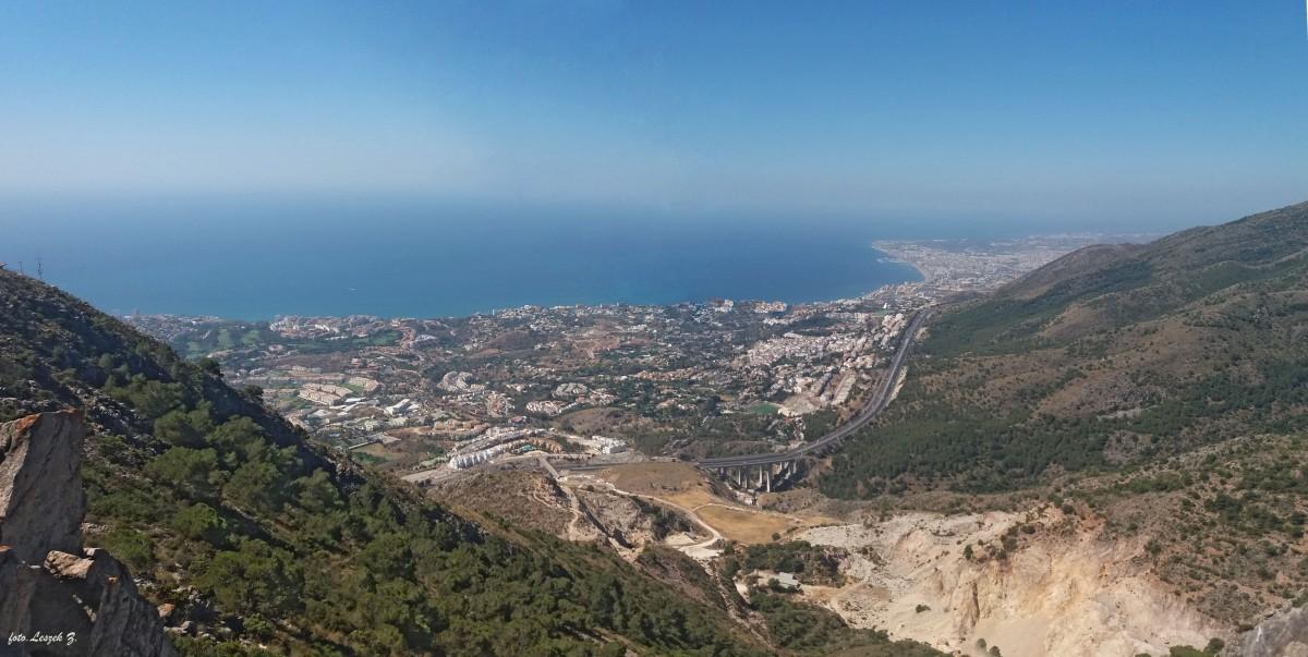 Zdjęcia: Calamorro 769 m., Szczyt Calamorro., Costa del Sol - Panorama., HISZPANIA