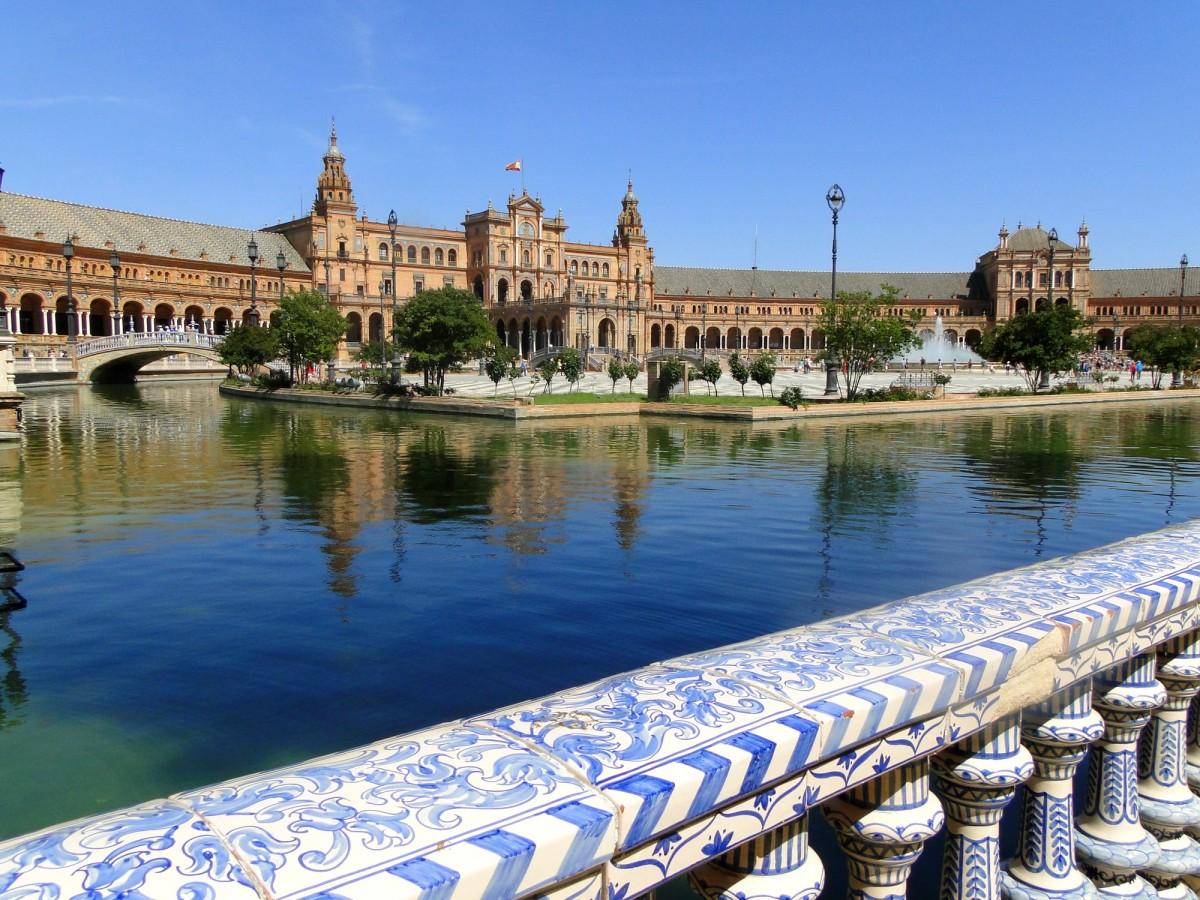 Zdjęcia: Sewilla, Andaluzja, Plac Hiszpański, HISZPANIA