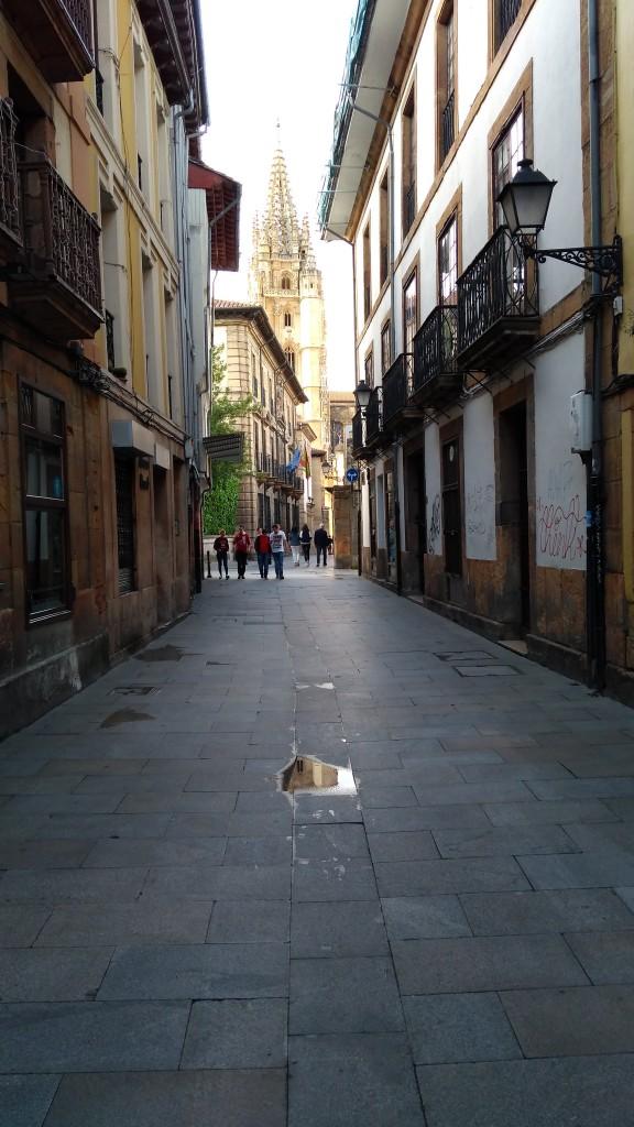 Zdjęcia: Oviedo, Asturia, Zaułek, HISZPANIA