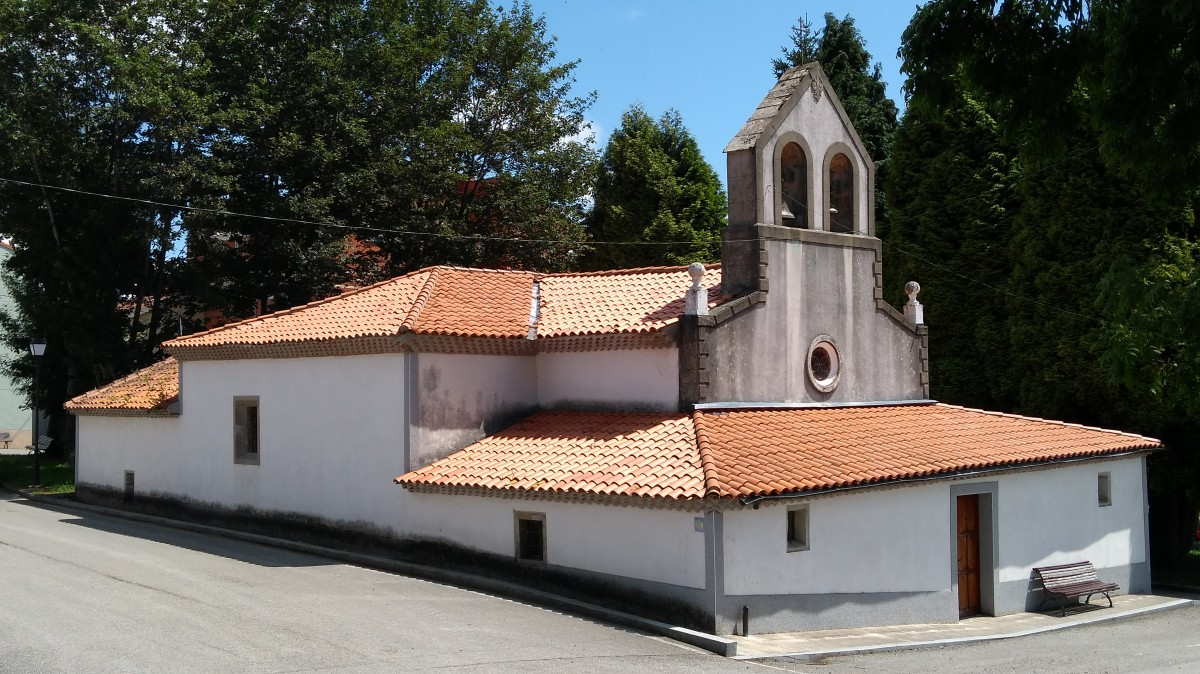 Zdjęcia: El Espina, Asturia, Kościół, HISZPANIA