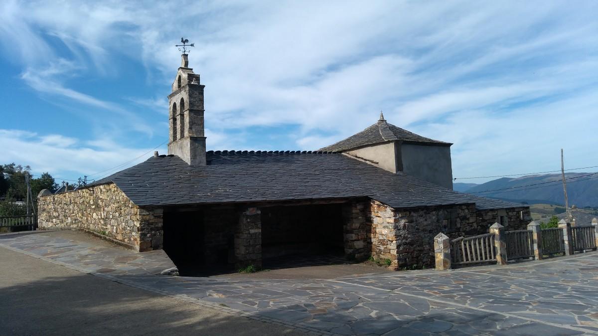 Zdjęcia: Penafuente, Asturia, Kościół pw. Św Marii Magdaleny, HISZPANIA