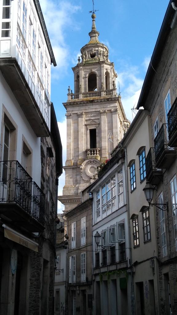 Zdjęcia: Lugo, Galicja, Wieża Katedry św Marii, HISZPANIA