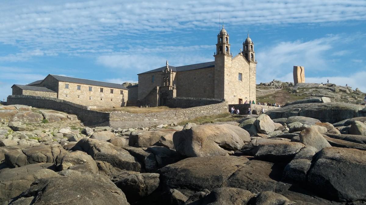 Zdjęcia: Muxia, Galicja, Kościół nad Oceanem Atlantyckim, HISZPANIA