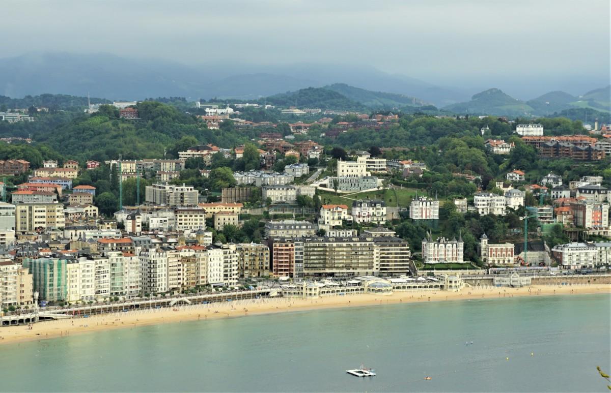 Zdjęcia: San Sebastian, Kraj Basków, Widok z Monte Urgull , HISZPANIA