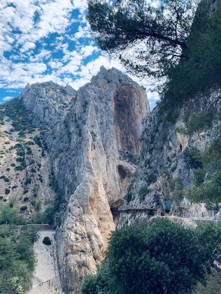 Zdjęcia: Desfiladero de los Gaintes, Andaluzja , Caminiato del Rey, HISZPANIA