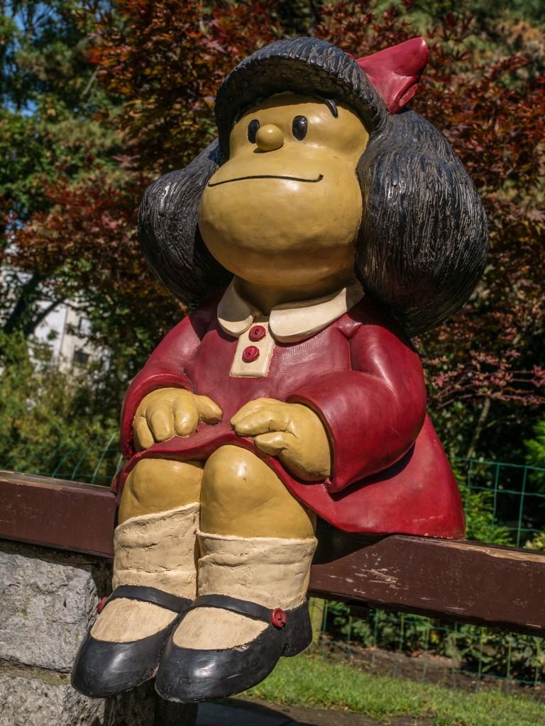 Zdjęcia: Oviedo, Asturia, Mafalda z Oviedo, HISZPANIA