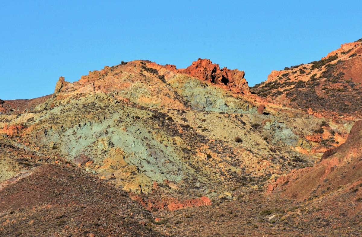 Zdjęcia: Park Narodowy Teide, Teneryfa, i  kolorowe góry, HISZPANIA