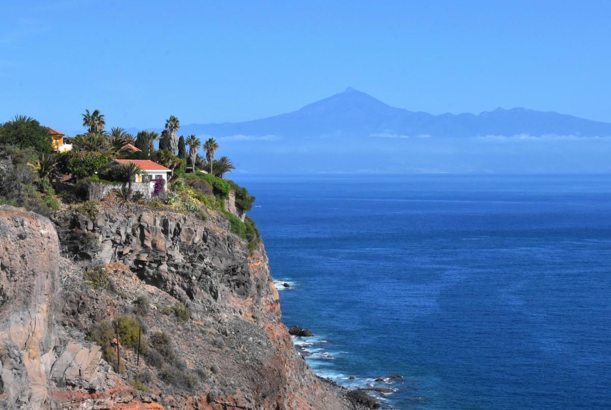 Zdjęcia: San Sebastian de la Gomera, La Gomera, Z widokiem na Teide, HISZPANIA