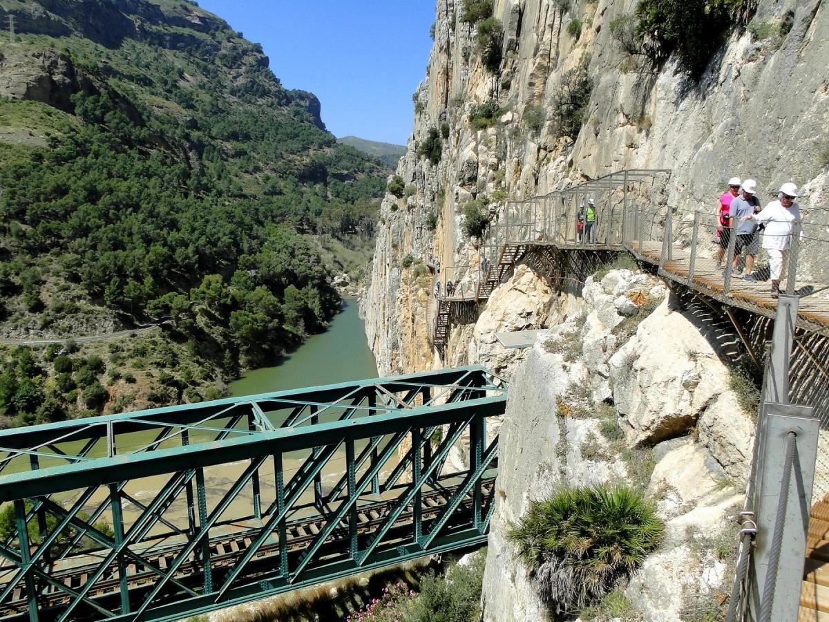 Zdjęcia: El Chorro, Andaluzja, El Caminito del Rey, HISZPANIA