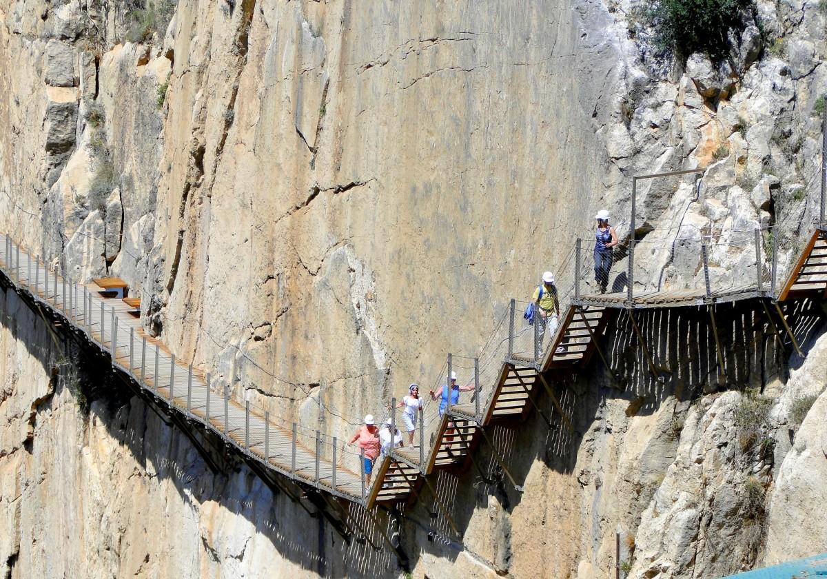 Zdjęcia: El Chorro, Andaluzja, Na Ścieżce Króla, HISZPANIA