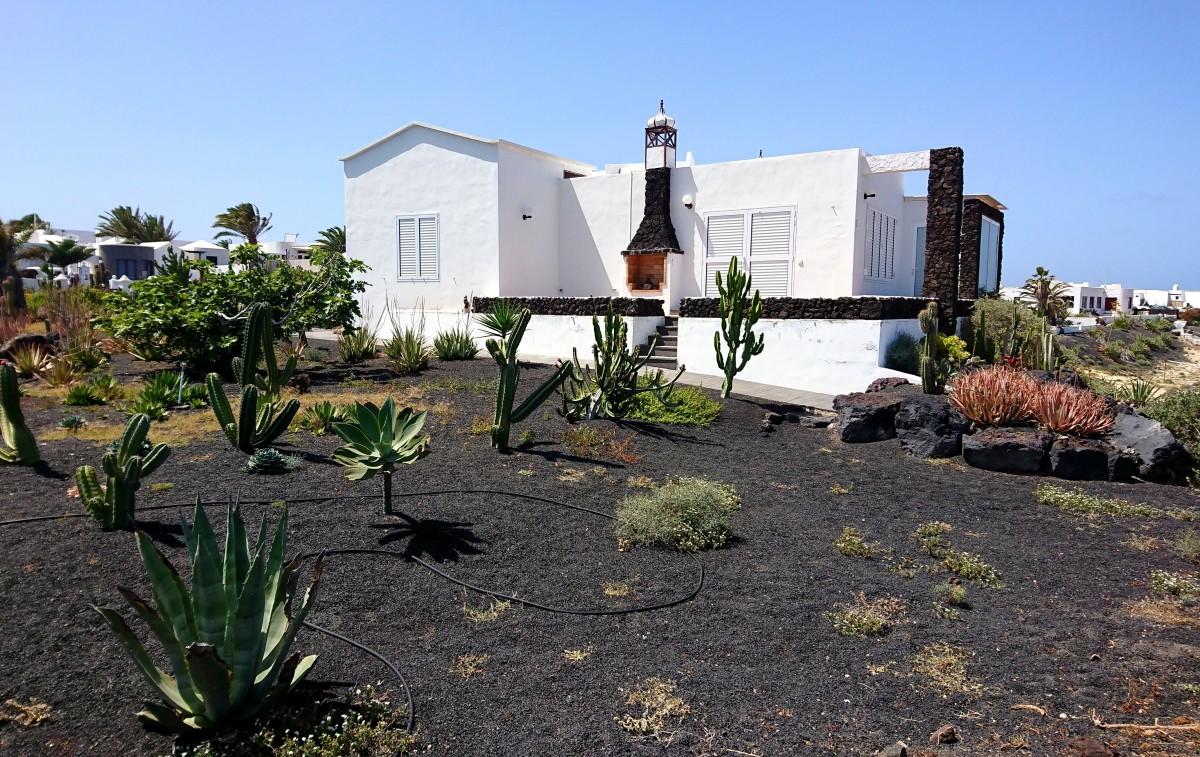 Zdjęcia: Lanzarote, Wyspy Kanaryjskie, Ogródek , HISZPANIA