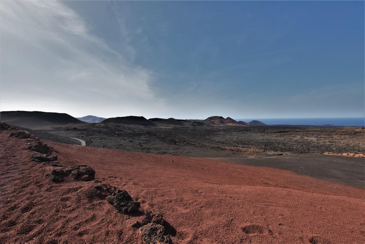 Zdjęcia: Parque Nacional de Timanfaya, Wyspy Kanaryjskie, Lanzarote, Parque Nacional de Timanfaya, HISZPANIA