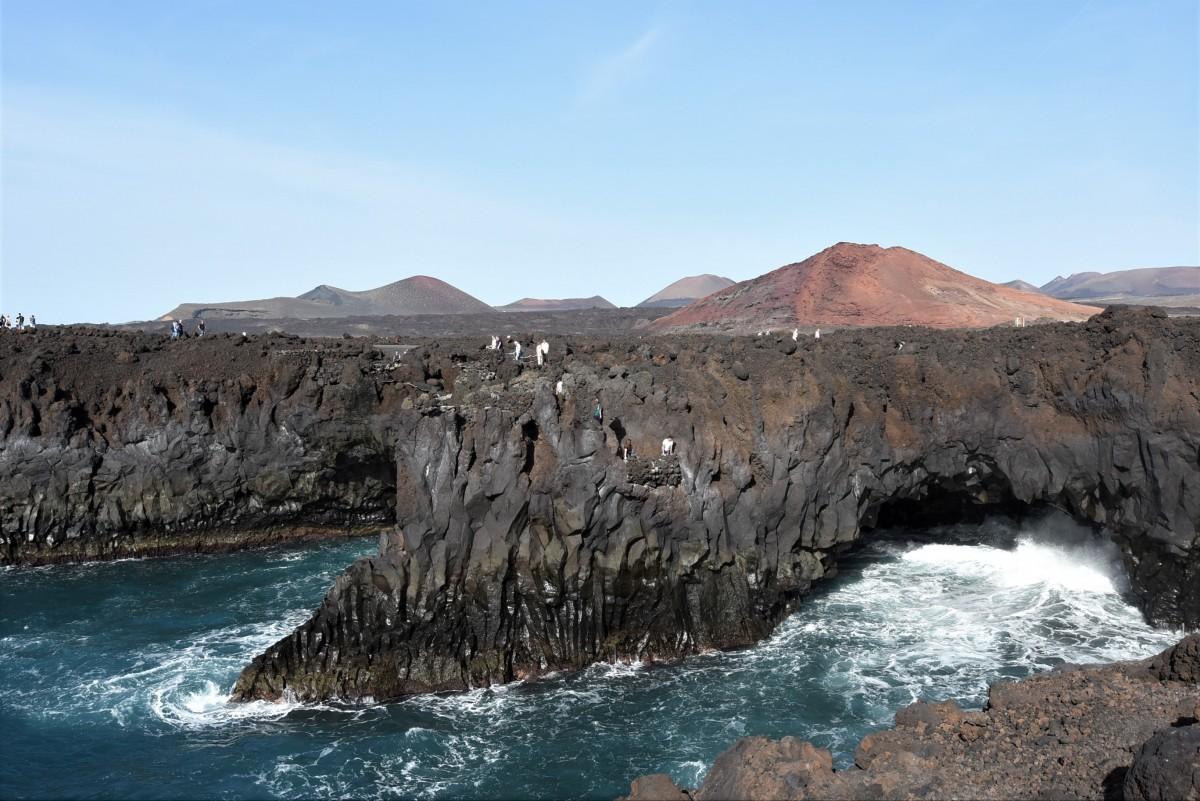 Zdjęcia: Lanzarote, Wyspy Kanaryjskie, Lanzarote, Parque Nacional de Timanfaya, HISZPANIA