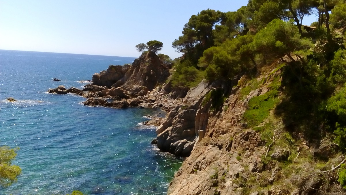 Zdjęcia: Calella de Palafrugell, Katalonia, Dzikie wybrzeże, HISZPANIA