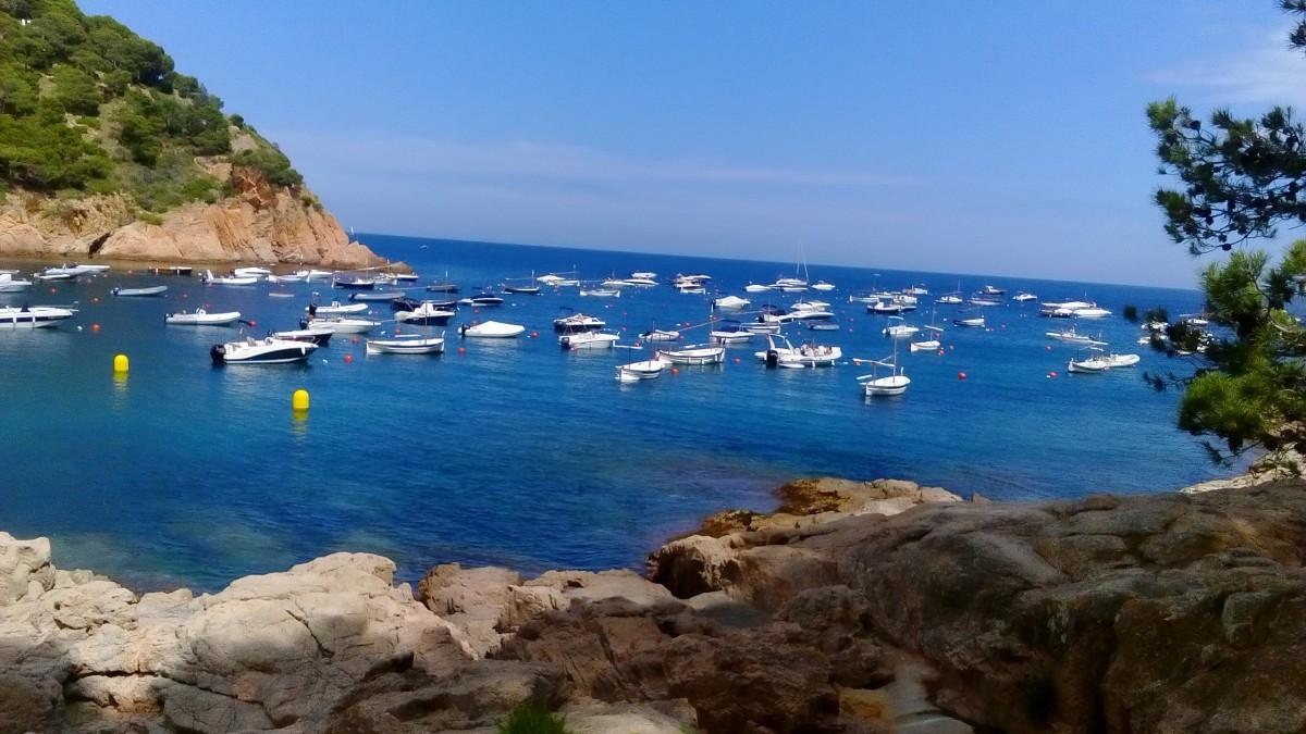 Zdjęcia: Tamariu, Katalonia, Port w Tamariu, HISZPANIA