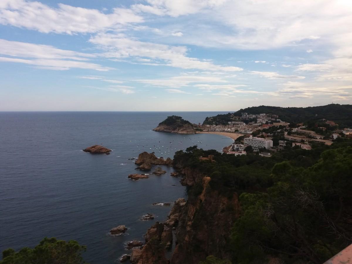 Zdjęcia: Tossa de Mar, Katalonia, Tossa de Mar - panorama, HISZPANIA
