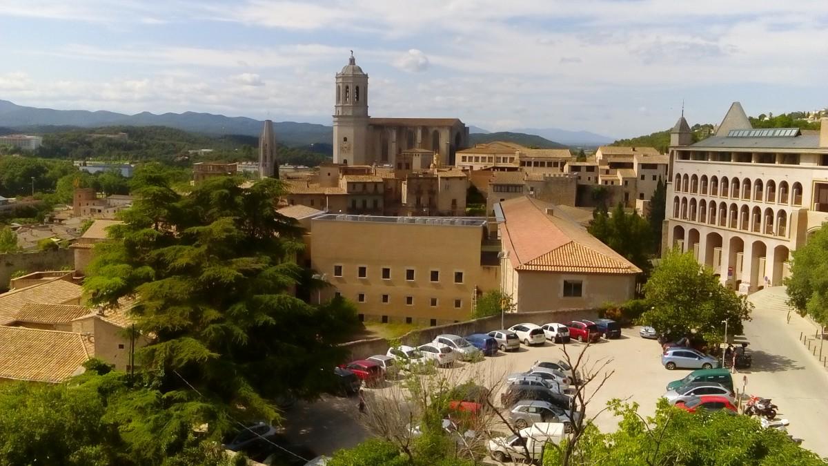 Zdjęcia: Girona, Katalonia, Girona - panorama, HISZPANIA