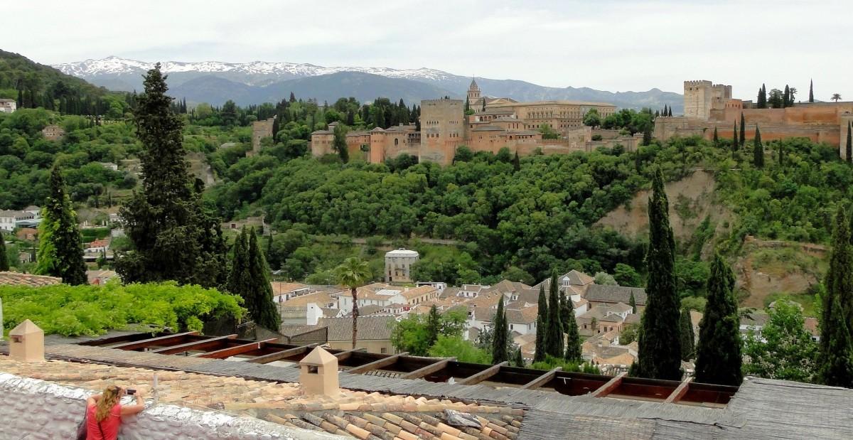 Zdjęcia: Granada, Andaluzja, Z widokiem na Alhambrę, HISZPANIA