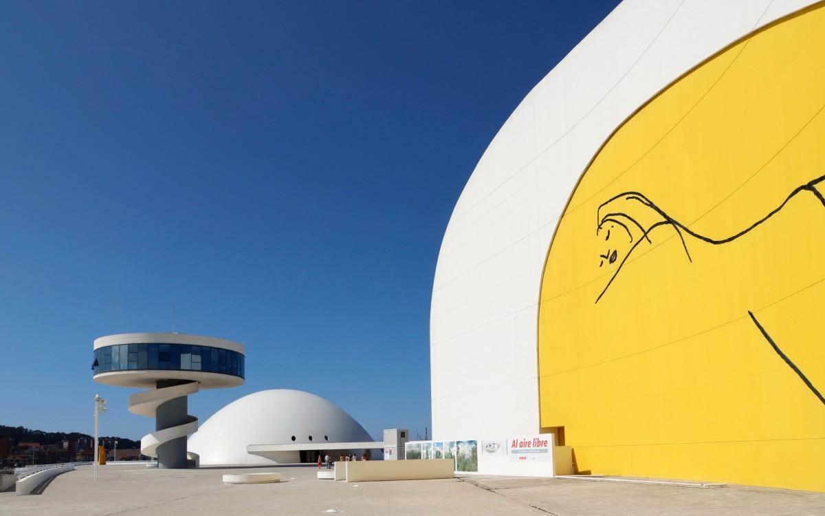 Zdjęcia: Aviles, Asturia, Centro Niemeyer, HISZPANIA
