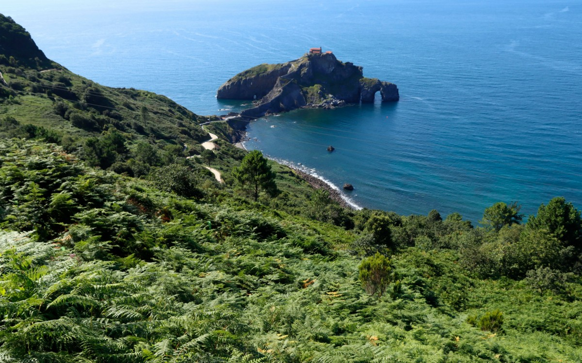Zdjęcia: Gaztelugatxe, Kraj Basków, San Juan de Gaztelugatxe, HISZPANIA