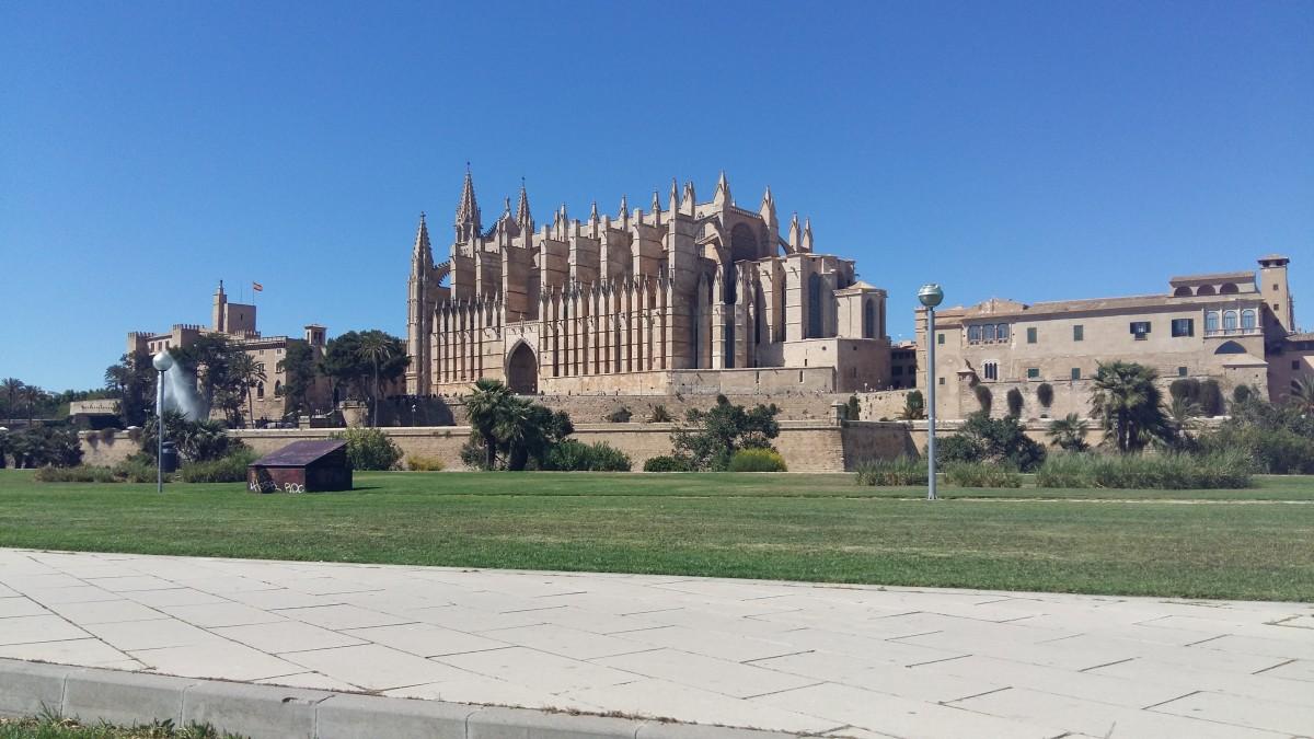 Zdjęcia: Palma, Majorka, Katedra, HISZPANIA