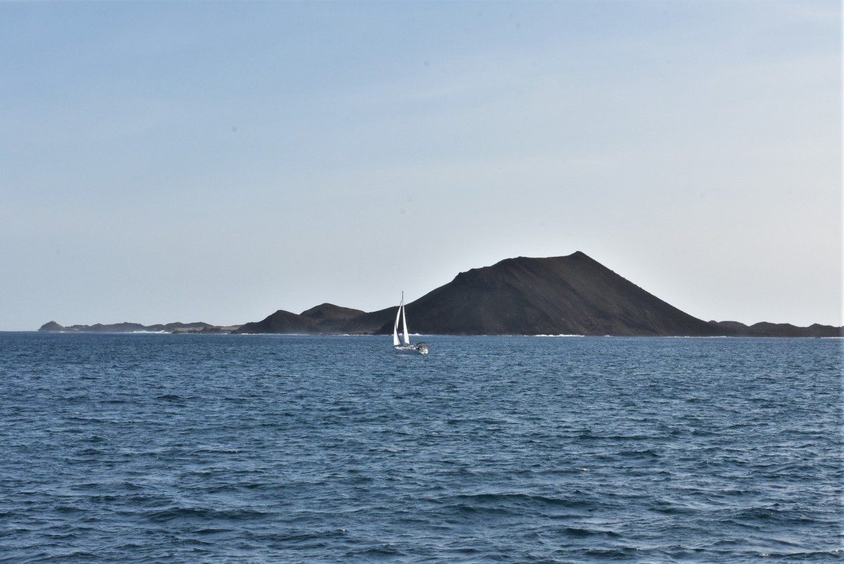 Zdjęcia: Corralejo, Fuertaventura, Lobos, widok z Corralejo, HISZPANIA
