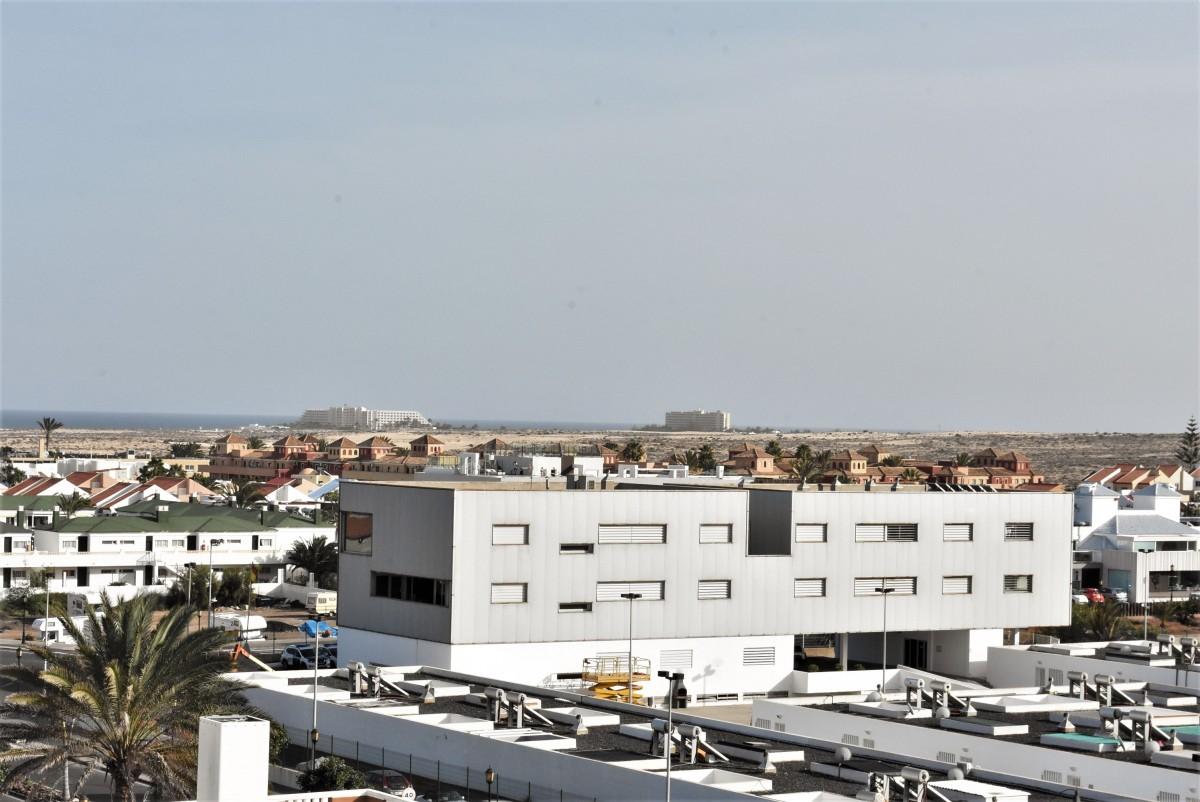 Zdjęcia: Corralejo, Fuertaventura, Corralejo, widok na wydmy, HISZPANIA