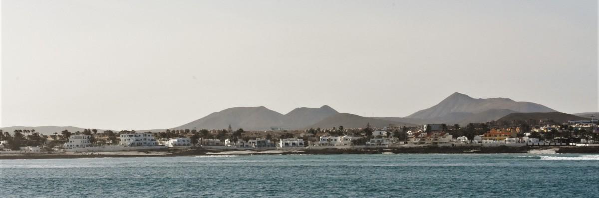 Zdjęcia: Corralejo, Fuertaventura, Corralejo, port, HISZPANIA