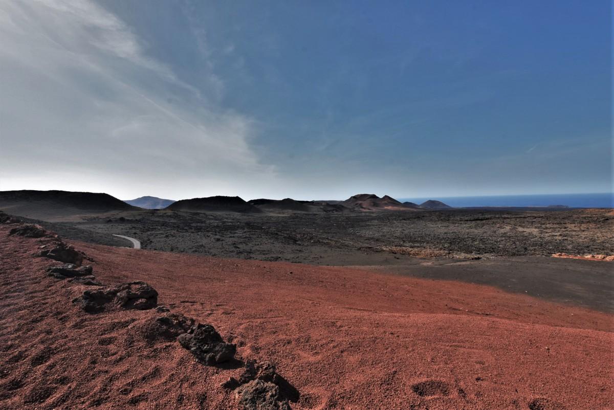 Zdjęcia: Lanzarote, Wyspy Kanaryjskie, Park Narodowy Timanfaya, HISZPANIA
