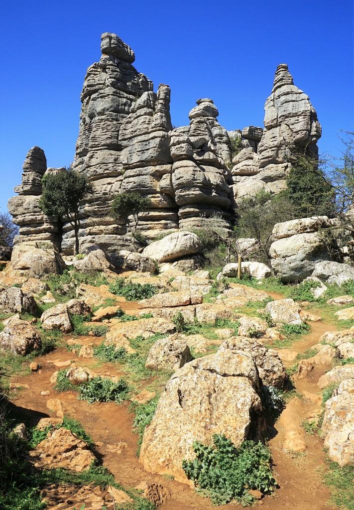 Zdjęcia: El Torcal de Antequera,  Andaluzja, Formacje skalne, HISZPANIA