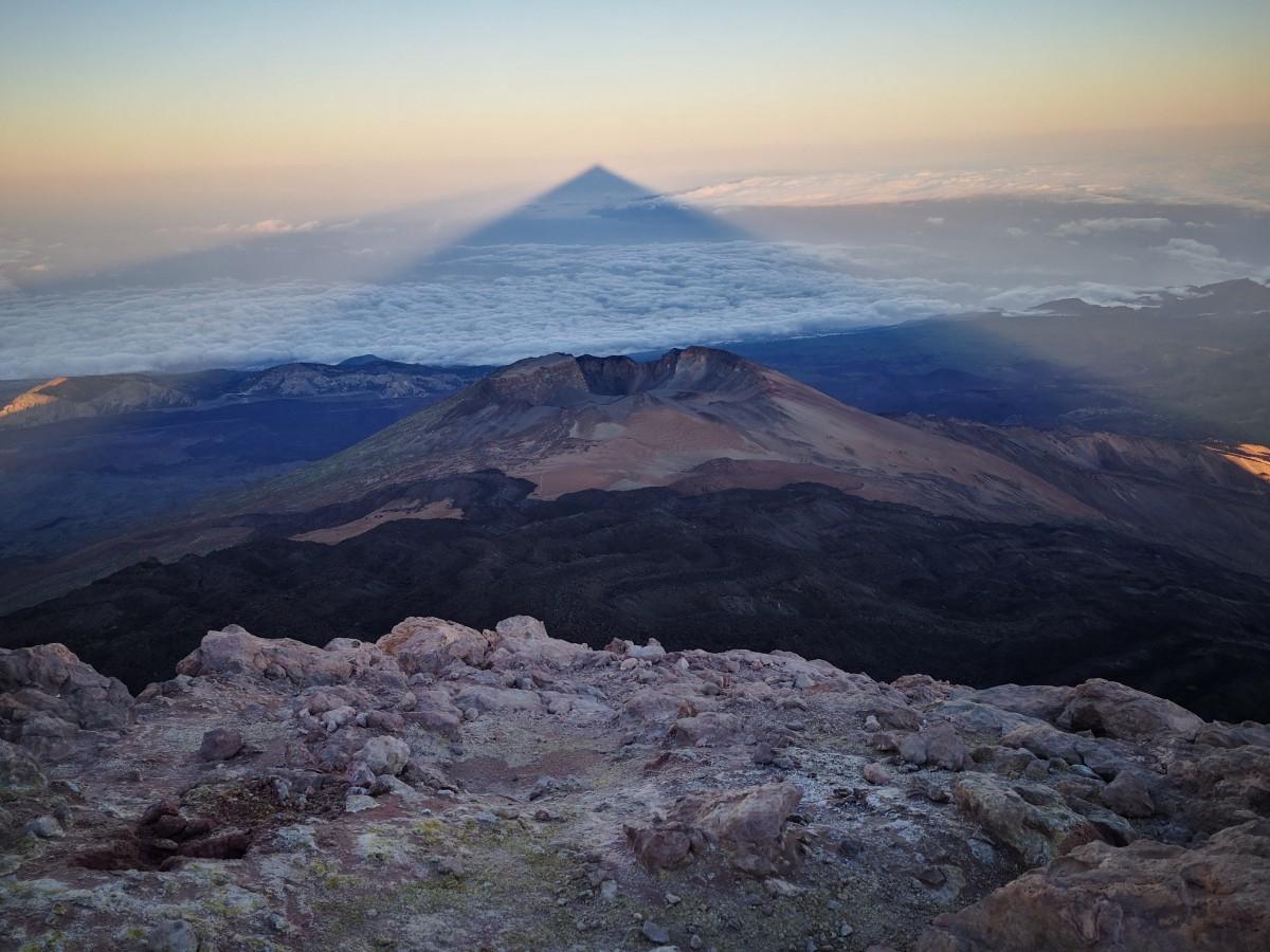 Zdjęcia: Teneryfa, Teneryfa, wulkan El Teide o wschodzie słońca, HISZPANIA