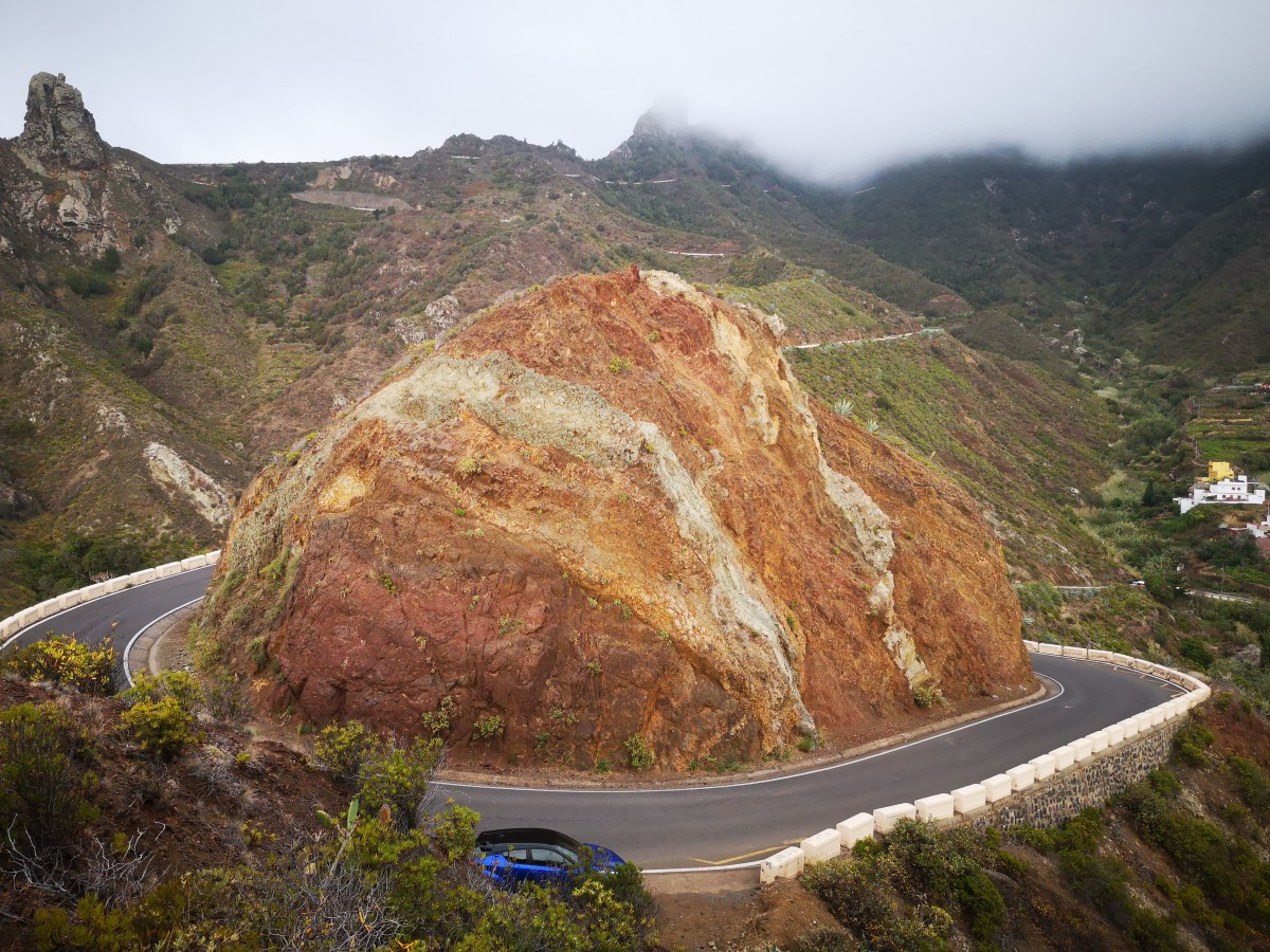 Zdjęcia: Teneryfa, Teneryfa, Odcienie wulkanu, HISZPANIA