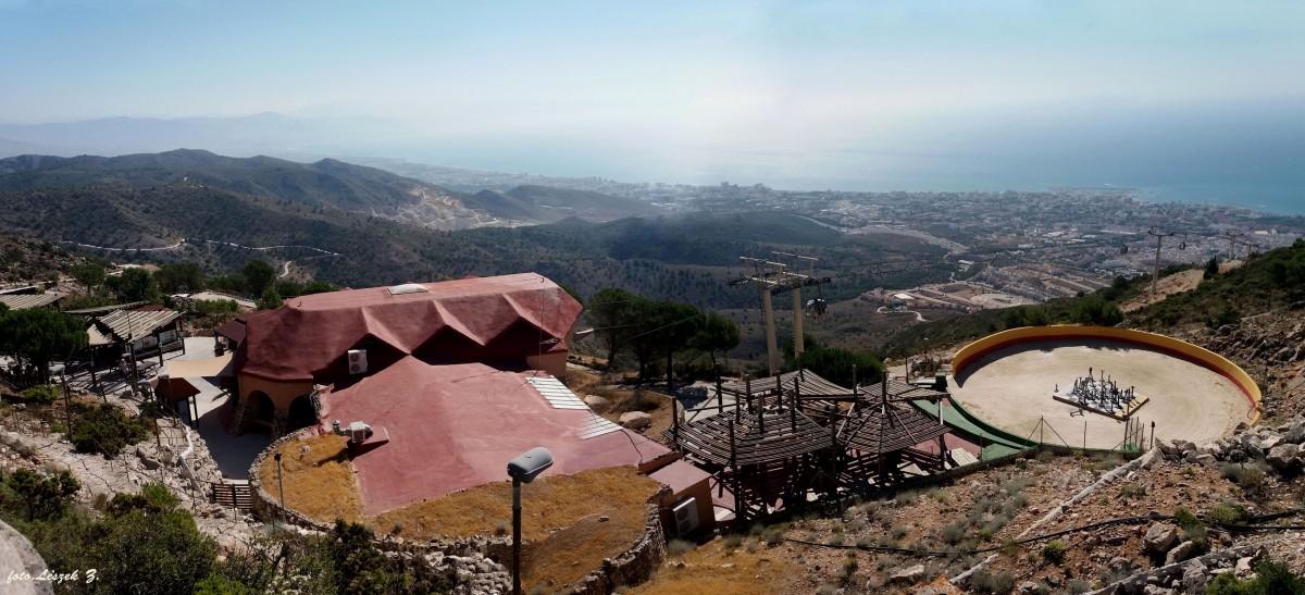 Zdjęcia: Benalmadena., Costa del Sol., Benalmadena - widok ze szczytu Calamorro, HISZPANIA