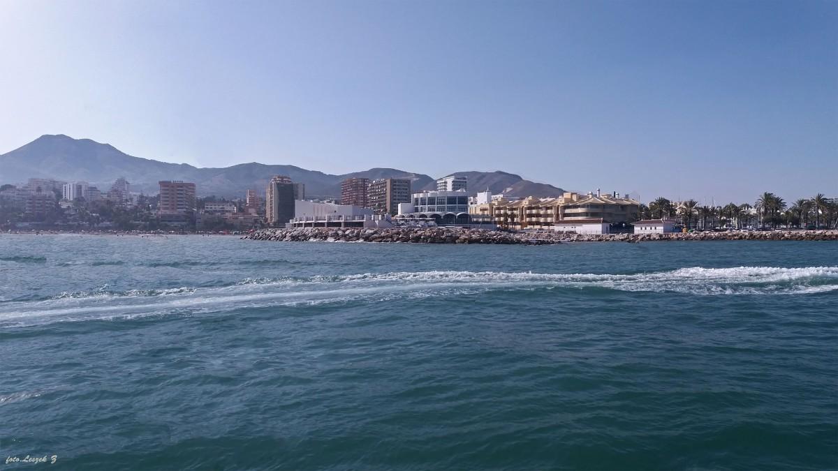 Zdjęcia: Benalmadena., Andaluzja., Benalmadena - Puerto Marina z rejsu statkiem., HISZPANIA