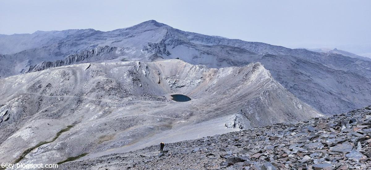 Zdjęcia: Mulhacen, Sierra Nevada, Widok z Mulhacen, HISZPANIA