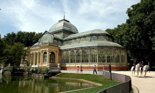 Zdjecie HISZPANIA / Madryt / Parque del Retiro. / Palacio de Cristal.