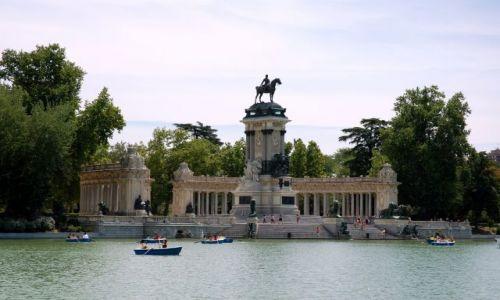 Zdjecie HISZPANIA / Madryt / Parque del Retiro. / Atrakcje w Parque del Retiro.